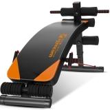 伊吉康多功能仰卧板 家用健身器材仰卧起坐板健腹板YW-14