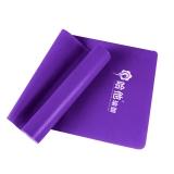 哈他瑜伽 天然乳胶弹力带 时尚健身拉力带 紫色