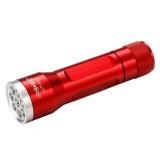 博客(Bocca) 手电筒手电 LED手电防水防摔迷你泛光手电筒 便携随身送电池手绳 航空铝合金制造 SLT-P005 红色