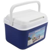 红色营地 户外车载便携保温箱 家用冷藏箱 烧烤保鲜 钓鱼箱 药品箱 送冰盒 蓝色 26L