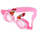 奇海儿童泳镜男童女童宝宝平光游泳镜粉红 唐老鸭 2807S 送价值15元泳帽一个
