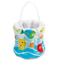 INTEX 58681儿童充气潜水镜 海滩水桶沙滩桶 玩沙工具 戏水玩具 带提绳