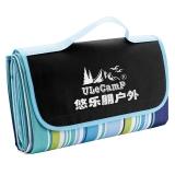 悠乐朋(Ulecamp)夏季野餐垫 防潮垫 牛津布野餐垫 休闲垫 午睡垫户外 格子垫子 彩条KC819