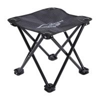 沃特曼Whotman 馬扎折疊椅便攜式小凳子釣魚椅戶外休閑馬扎 小號 WY1775條紋黑