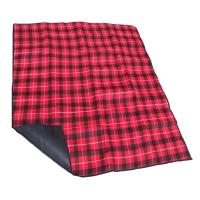 尚龙 绒面加厚野餐垫防潮垫 正面抓绒底部镀膜防潮 休闲露营帐篷内垫(150cm*130cm)SL-141P