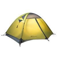 牧高笛戶外裝備 防風防暴雨三季鋁桿雙人雙層帳篷 冷山2 驢友強推 MZ093005 綠色