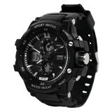 时?#22530;?skmei)手表运动户外跑步夜光电子表 0990黑色大号