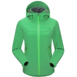 埃尔蒙特 ALPINT MOUNTAIN 户外软壳冲锋衣情侣男女款抓绒防风保暖软壳衣 620-005 绿色 XL