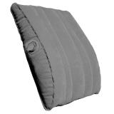 EPC travellight 充气腰靠靠?#36710;?多用途充气枕头 护腰垫坐垫 出国旅行飞机坐车便携枕 烟灰黑色