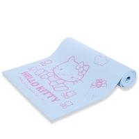 凯蒂猫(hello kitty)正反面防滑加厚瑜伽垫 AHBD30838-8mm 粉蓝色