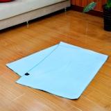 迪玛森高吸水性超细纤维防滑TPE垫子专用超纤维瑜伽铺巾 浅蓝色 赠塑料袋