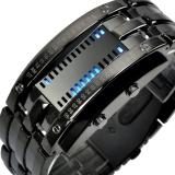 时?#22530;?skmei)手表户外运动时尚创意LED腕表 0926黑色大号