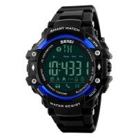 时刻美(skmei)多功能男士户外运动跑步电子手表 1226蓝色