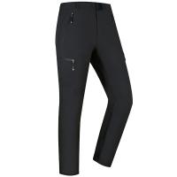 埃尔蒙特 ALPINT MOUNTAIN 户外软壳冲锋裤男女款防风保暖软壳裤 620-009 黑色 XL