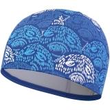 拓胜(TOSWIM) 游泳帽 男 女士长发舒适布帽 正品时尚护耳不勒头泳帽 幻灵