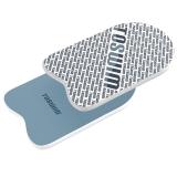 拓胜(TOSWIM)游泳训练板打水板训练学习专用成人儿童漂浮板 浅灰色