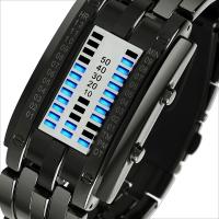 时?#22530;?skmei)手表户外运动时尚创意LED腕表 0926黑色小号