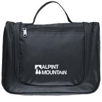 埃尔蒙特ALPINT MOUNTAIN 户外旅行洗漱包 610-028 黑色