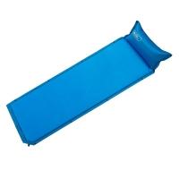 牧高笛戶外裝備 單人可拼接露營自動充氣防潮墊  QP NXL1434001 寶藍