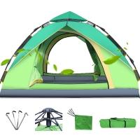 创悦 全自动户外帐篷免安装露营帐篷2-3人液压野营帐篷 CY-5905A 绿色