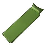 牧高笛戶外裝備 單人可拼接露營自動充氣防潮墊  QP NXL1434001 綠色