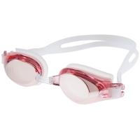 奇海镀膜泳镜男女通用平光游泳镜比赛训练 游泳装备 2500M粉色