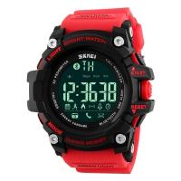 时刻美(skmei) 智能手表多功能户外运动跑步蓝牙电子表 1227红色