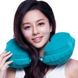 EPC 充气枕U型护颈枕 飞机火车便携枕 旅游用品 出国装备 珊瑚绿色