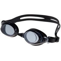 奇海平光泳镜男女通用游泳装备 1108黑色送泳帽