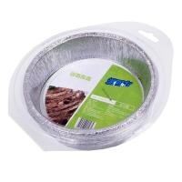 游四方铝箔盘 圆形锡纸盘 烧烤烤盘 烘焙模具8只装