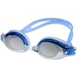 奇海镀膜泳镜男女通用平光游泳镜比赛训练 游泳装备 2500M蓝色