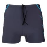 英發(YINGFA)休閑兩側線條對稱平角泳褲Y3567 -2藍色XXXL