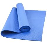 乐士Enpex 4mm环保PVC男女健身瑜伽垫 蓝色