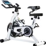 美国汉臣HARISON动感单车家用静音室内健身车 B1850