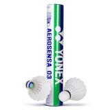 尤尼克斯YONEX AS-03羽毛球精选鸭毛耐打比赛训练用球12只装