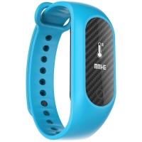 博之轮(BOZLUN)智能手表户外运动跑步光学测血压血氧心率手环 B15S湖蓝