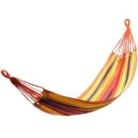 康尔KingCamp吊床秋千 户外室内吊椅 帆布透气耐撕裂 送吊床绳KG3737橙黄蓝