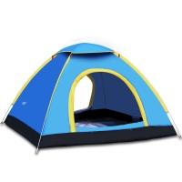 创悦 帐篷 户外野营自动帐篷露营帐篷 三人免安装二秒快开帐篷CY-5803 颜色随机