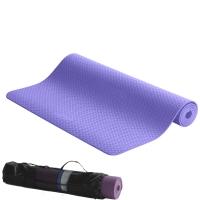 IKU加宽瑜伽垫 6MM厚纯tpe男女运动健身专用垫183CM*80CM