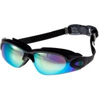 奇海(QIHAI)泳镜 镀膜大镜框男女通用电镀游泳眼镜黑色1301