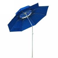 熊火(bear fire) 2.0米双层带缺口钓伞钓鱼伞户外遮阳伞雨伞垂钓用品