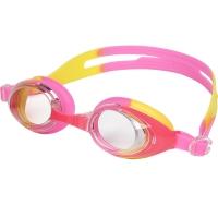 李宁 LI-NING 儿童舒适泳镜柔软防雾青少年游泳眼镜 LSJ302 粉