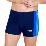 奇海(QIHAI)033-8 XXL号蓝色加大款男士游泳衣温泉时尚休闲运动高弹男士泳裤