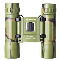 尚龙折叠双筒望远镜 桥式折叠迷彩多层镀膜 10*25户外运动望远镜 SL-S73