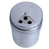 营地 圆柱不锈钢调味瓶/调料瓶/胡椒罐 烧烤调味罐 调料罐 烧烤炉烧烤架配件