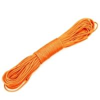 先锋连 户外31米军规伞绳 救生绳安全绳 捆绑绳垂降绳 捆绑户外装备 军迷用品7芯承重 橙色