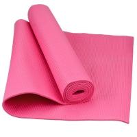 乐士Enpex 4mm环保瑜伽垫 男女健身垫 俯卧撑垫 粉色