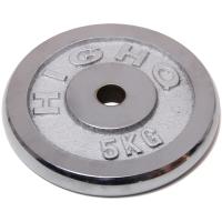凯速 电镀配重 杠铃片5公斤(孔径28mm单片)