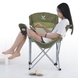 威野营(V-CAMP)CF2702 休闲折叠椅 扶手椅 便携折叠椅 高档配色家居户外皆宜