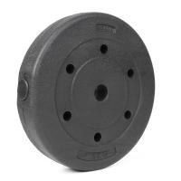 凯速KANSOON环保杠铃片举重配重环保包胶哑铃片7.5公斤(7.5kg孔径28mm单片装)新款